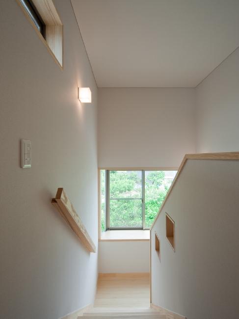 階段室 出窓から花火が見える?